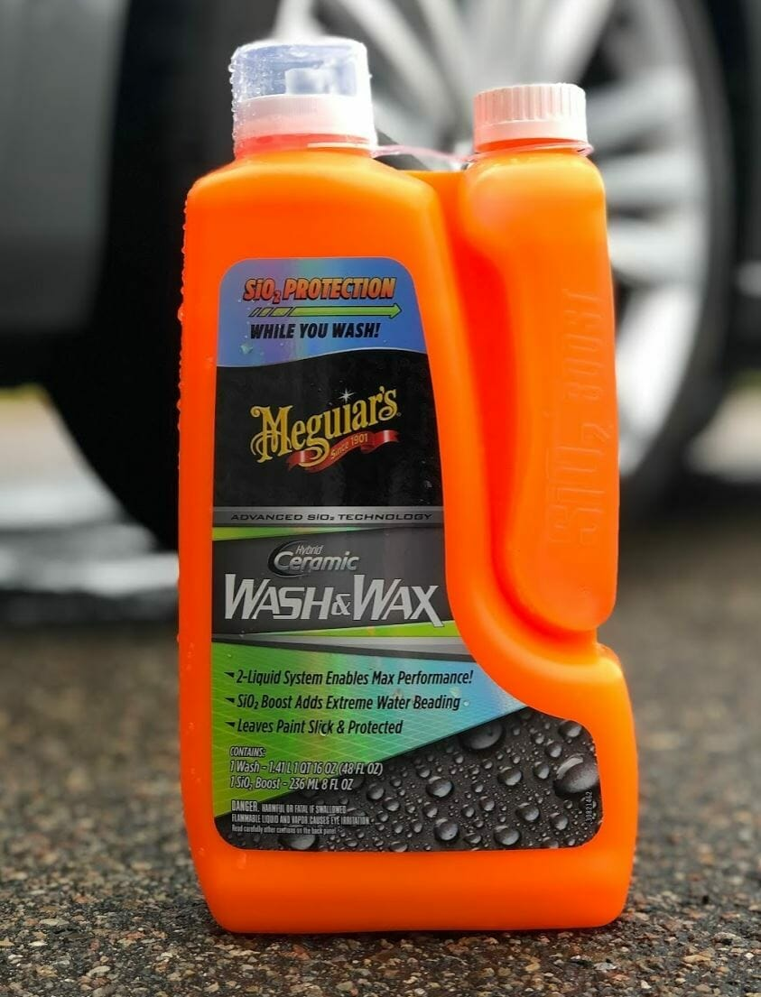 meguiars hybrid ceramic wash and wax
